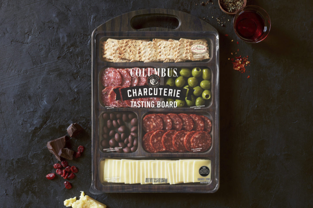 Columbus Craft Meats Charcuterie Tasting Board
