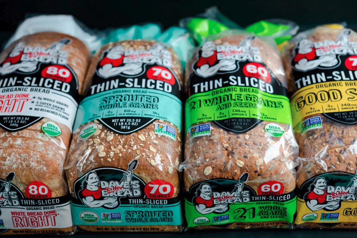 Daves Killer Bread thin-sliced