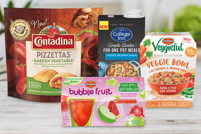 Del Monte Foods products