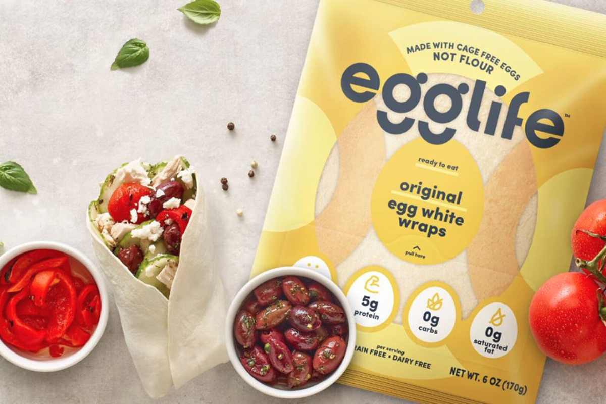 EggLife egg white wraps