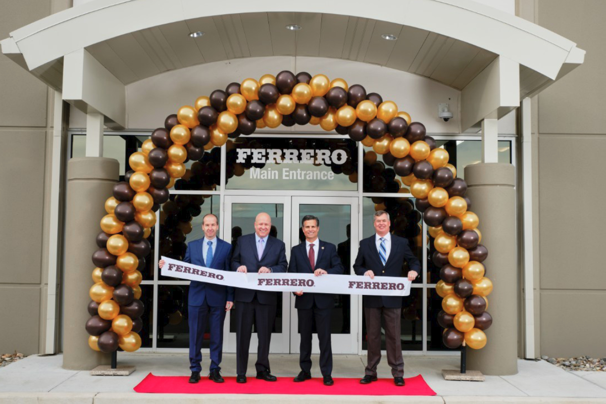 Ferrero distribution center opening in Jonestown, Pa.