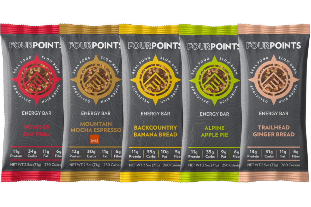 Fourpoints energy bars