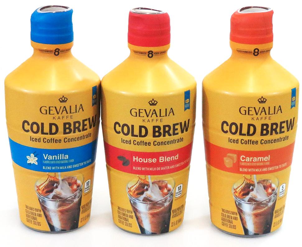 Gevalia cold brew coffee concentrate