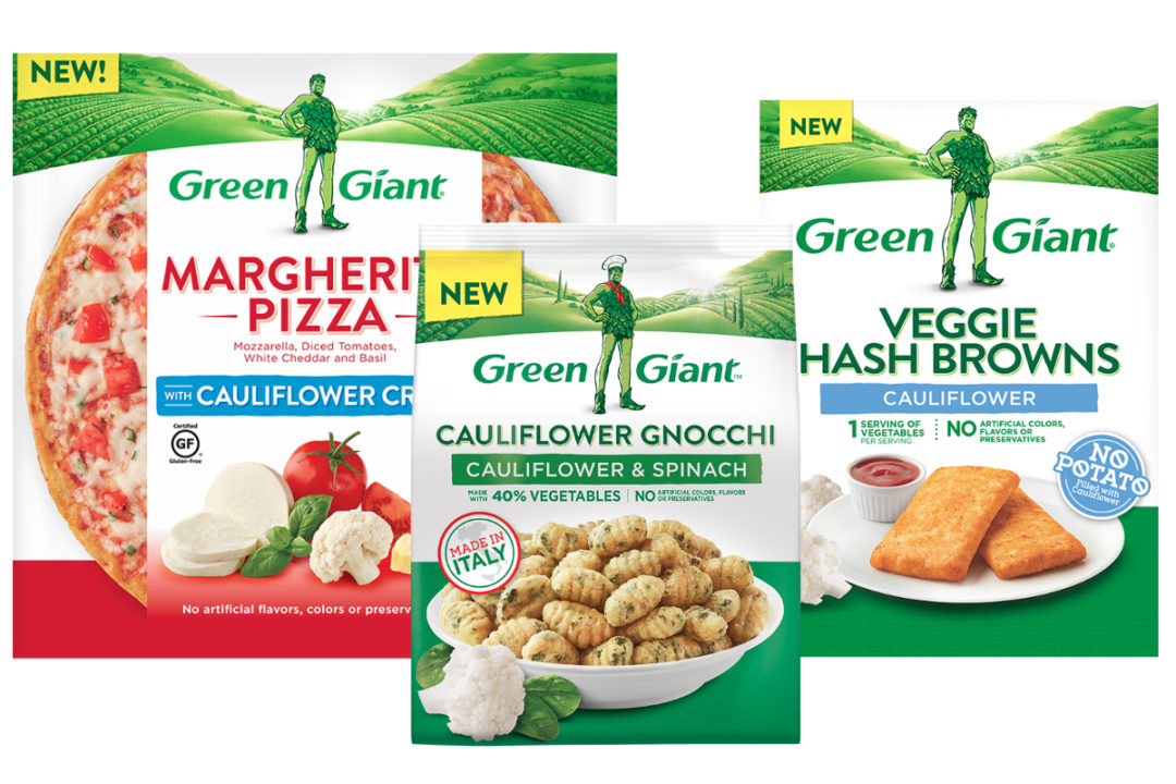 New Green Giant products, B&G Foods