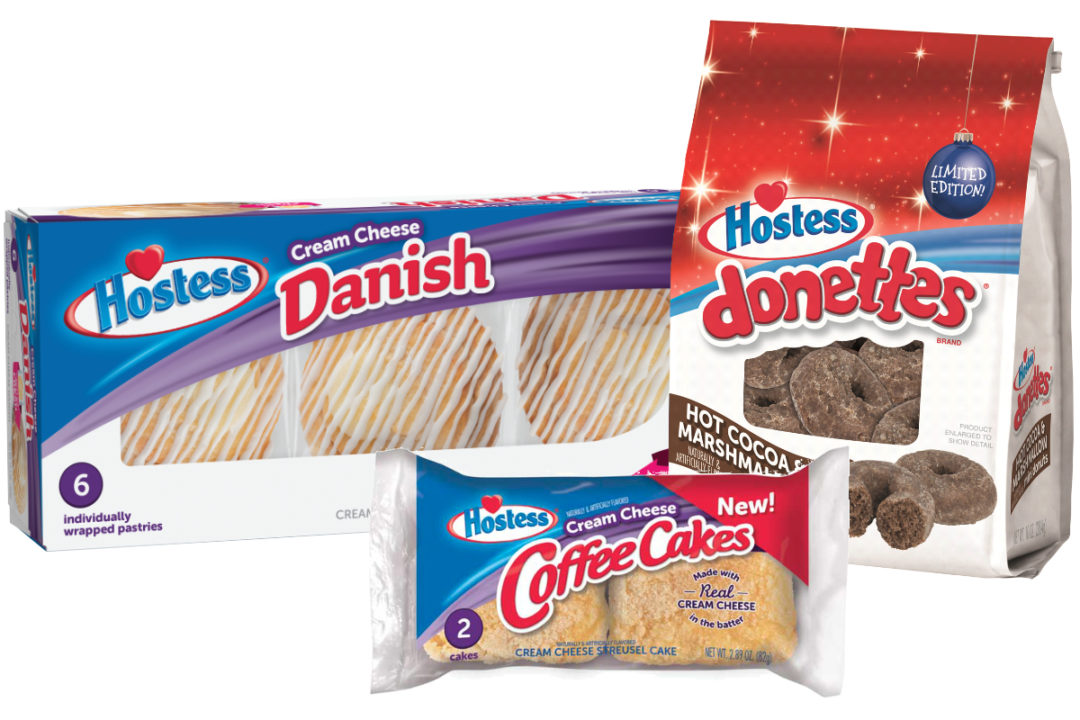 New Hostess breakfast products