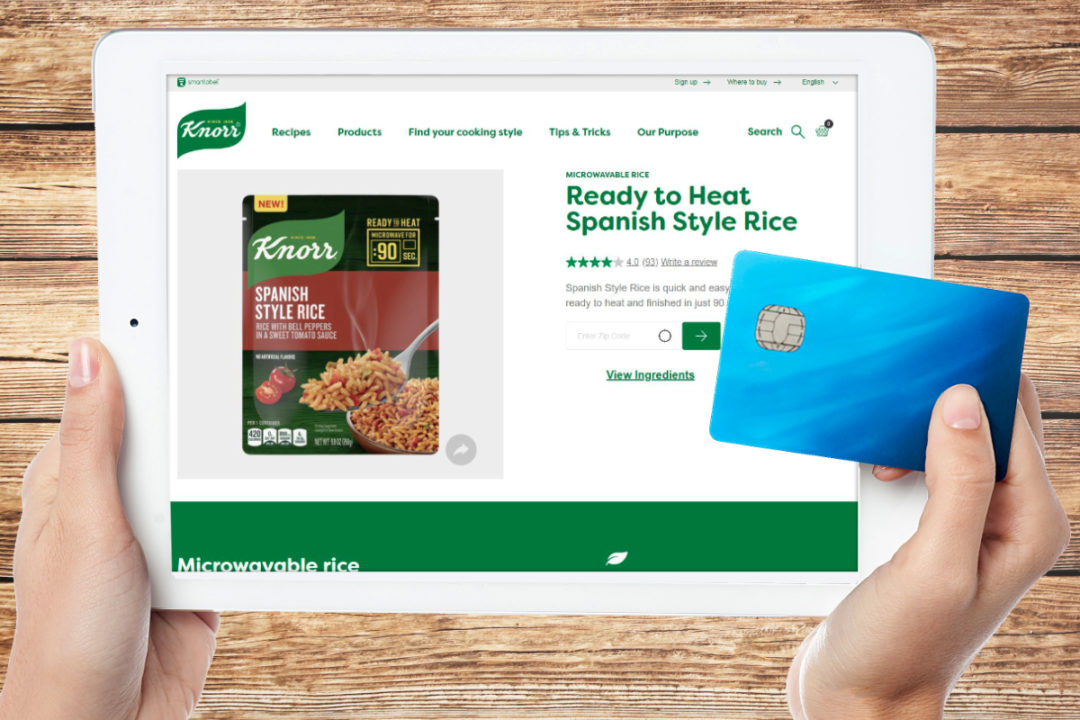 Unilever Knorr e-commerce