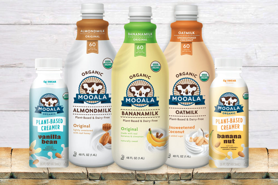 Mooala plant-based beverages and creamers
