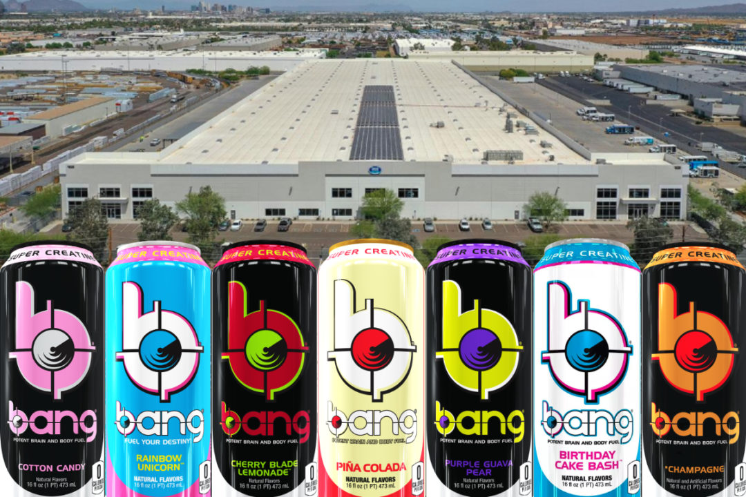 New Bang Energy facility in Phoenix