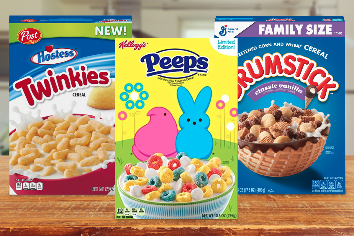 New cereals from Post, Kellogg and General Mills