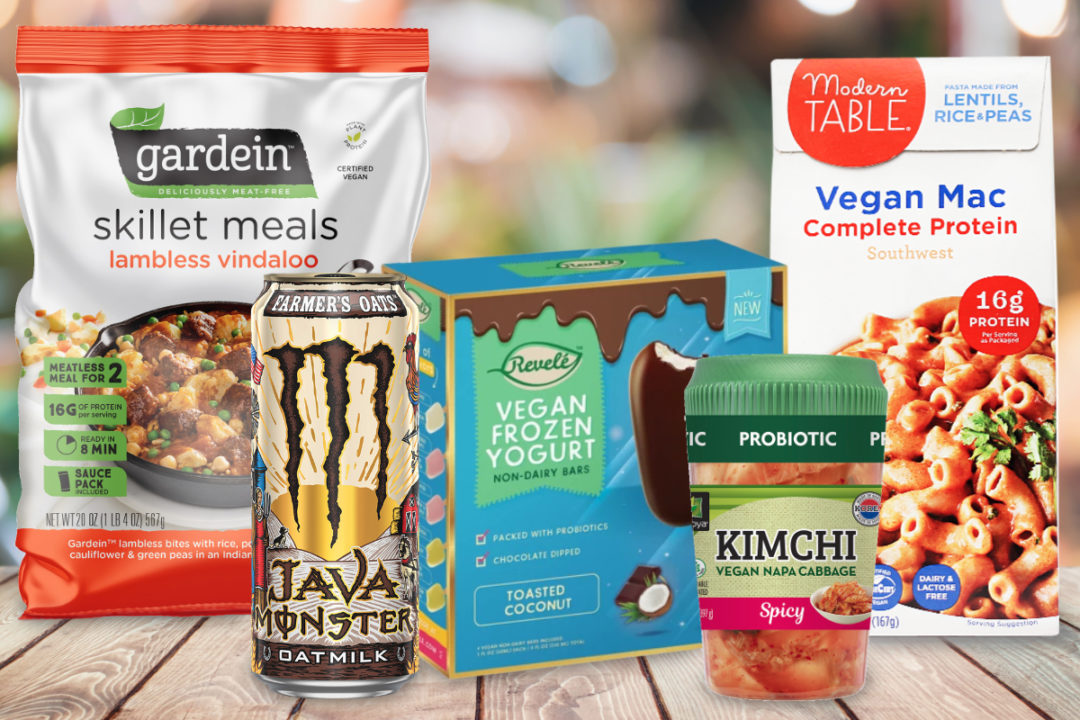 New vegan products in 2019