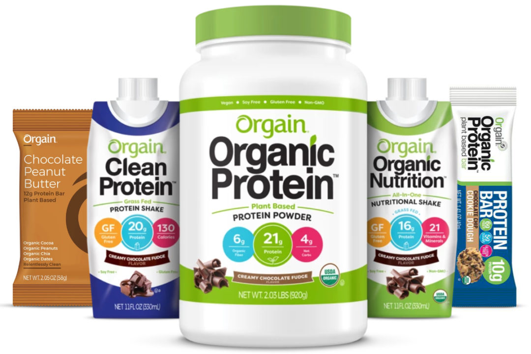 Orgain products
