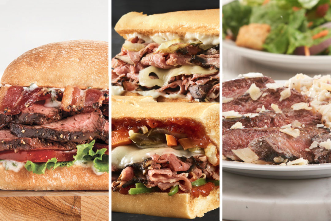 New menu items from Arby's, Quiznos and Friendly's