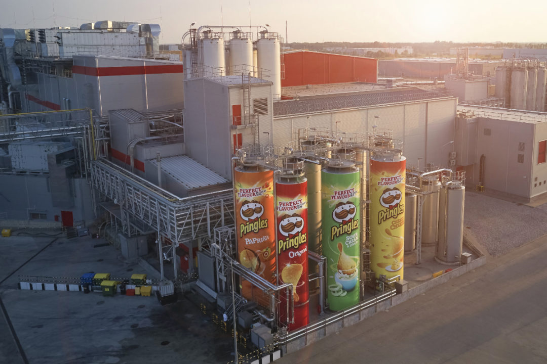 Kellogg Pringles factory in Europe