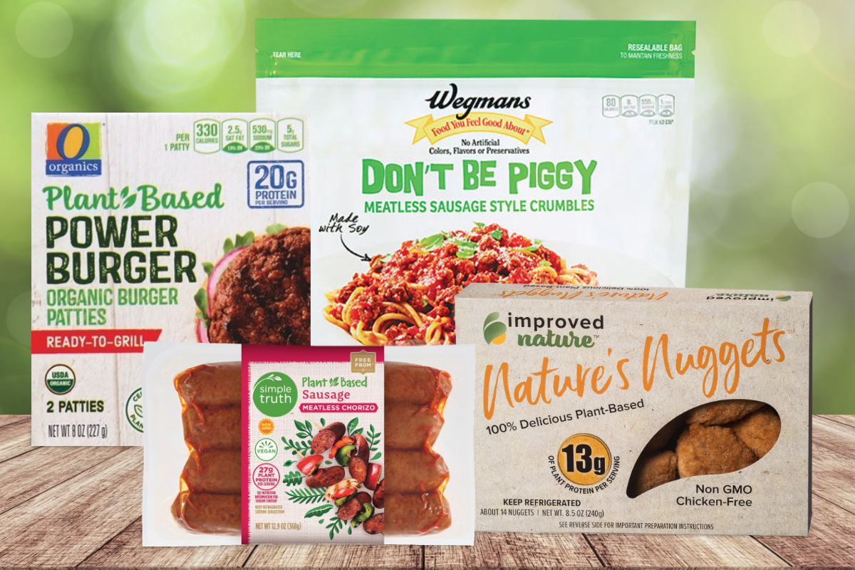 Private label plant-based meats