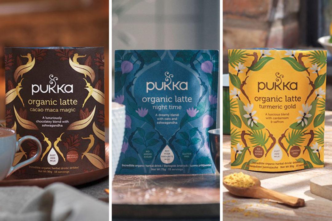 Pukka Organic Lattes