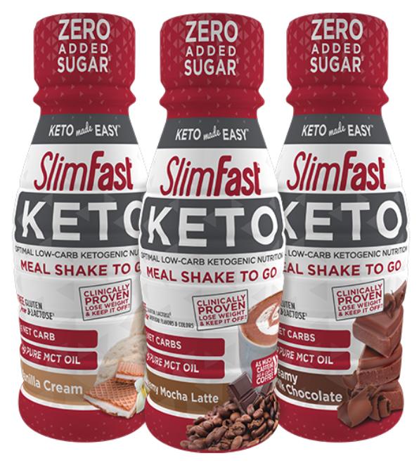 SlimFast keto shakes