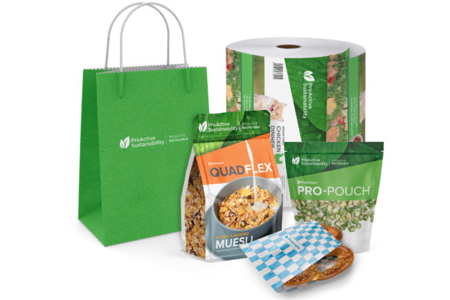 ProAmpac sustainable food packaging