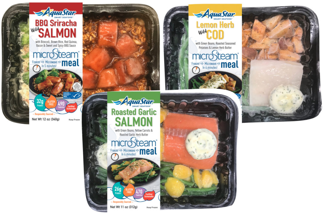 Aqua Star MicroSteam Seafood Meals