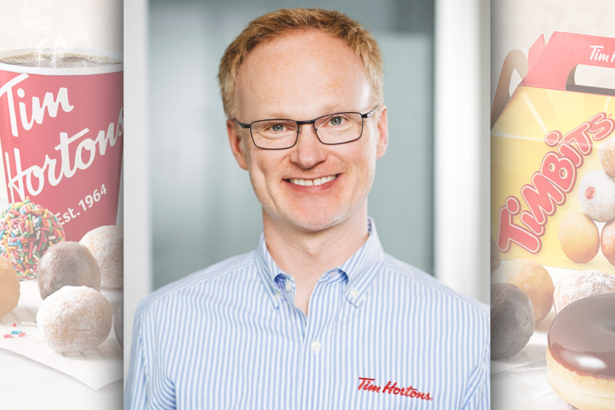 Axel Schwan, Tim Hortons, Restaurant Brands International