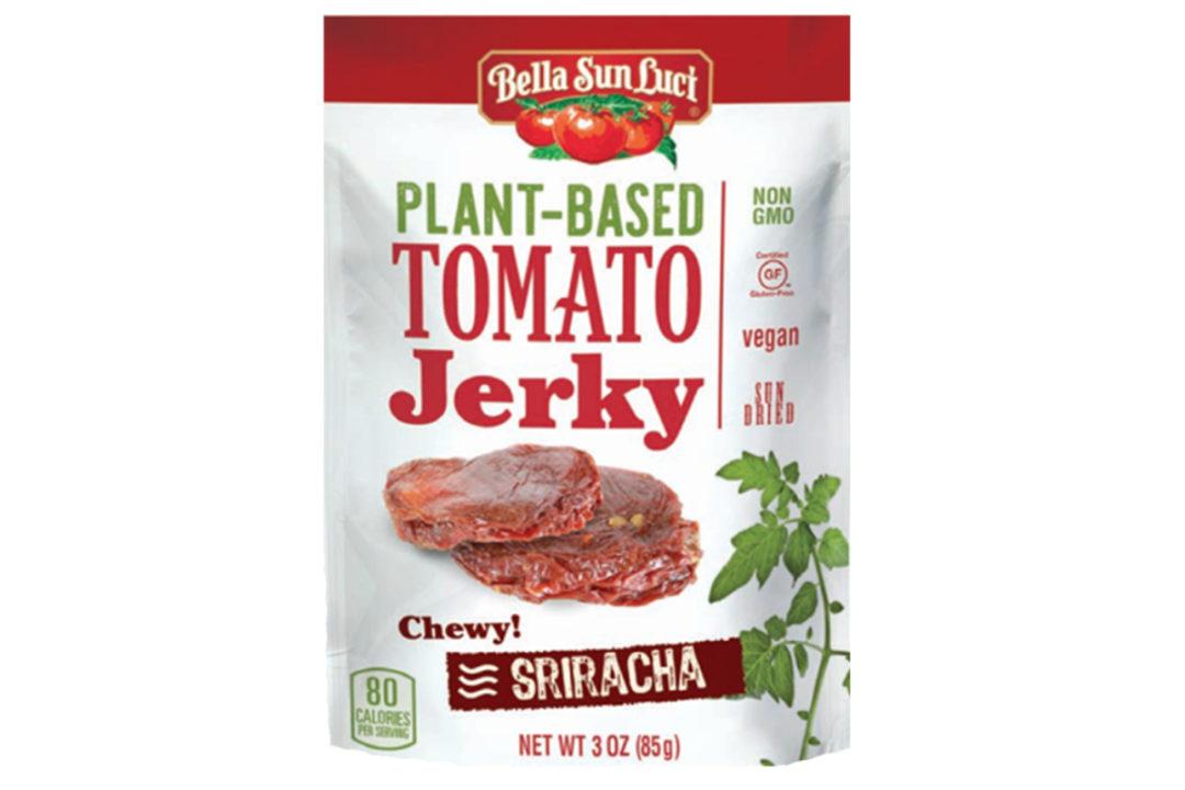 Bella Sun Luci plant-based tomato jerky