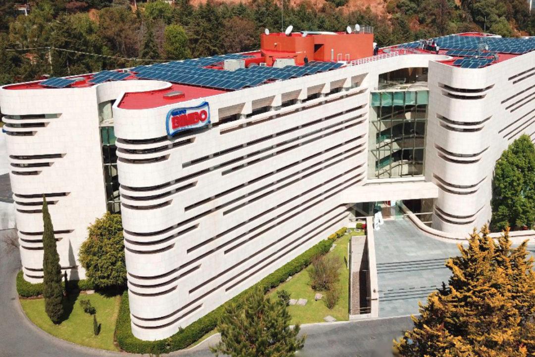 Grupo Bimbo solar panel facility