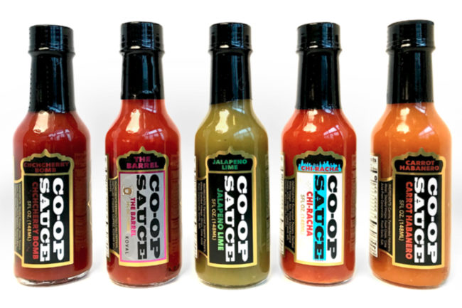 Co-Op Sauce keto-friendly hot sauces
