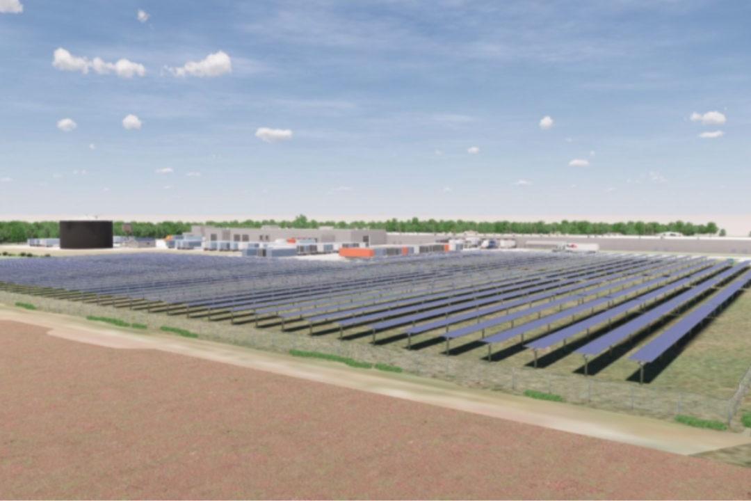 Conagra Brands solar farm atWish-bone salad dressing facility in St. Elmo, Illinois