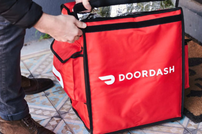 Door Dash bag