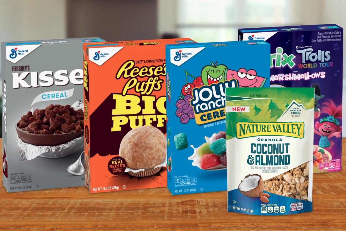 General Mills new cereals for 2020