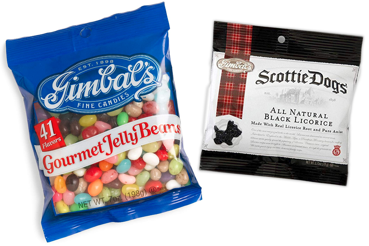 Gimbal's jellybeans and Scottie Dogs licorice