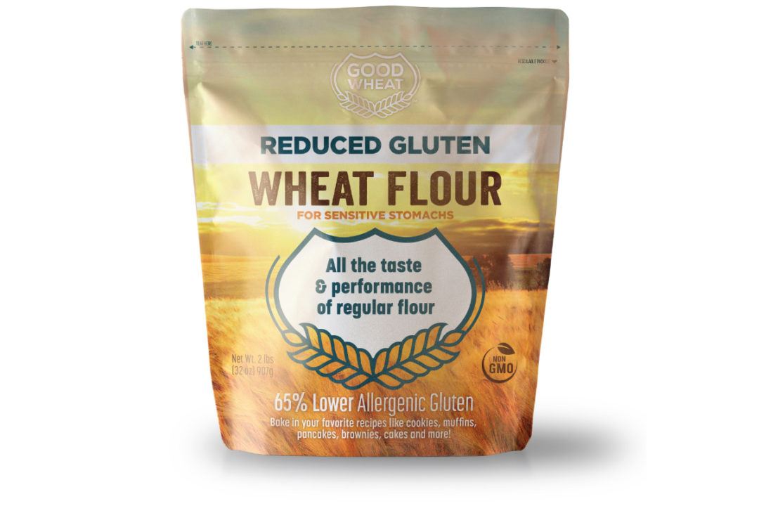Arcadia Biosciences reduced gluten GoodWheat flour