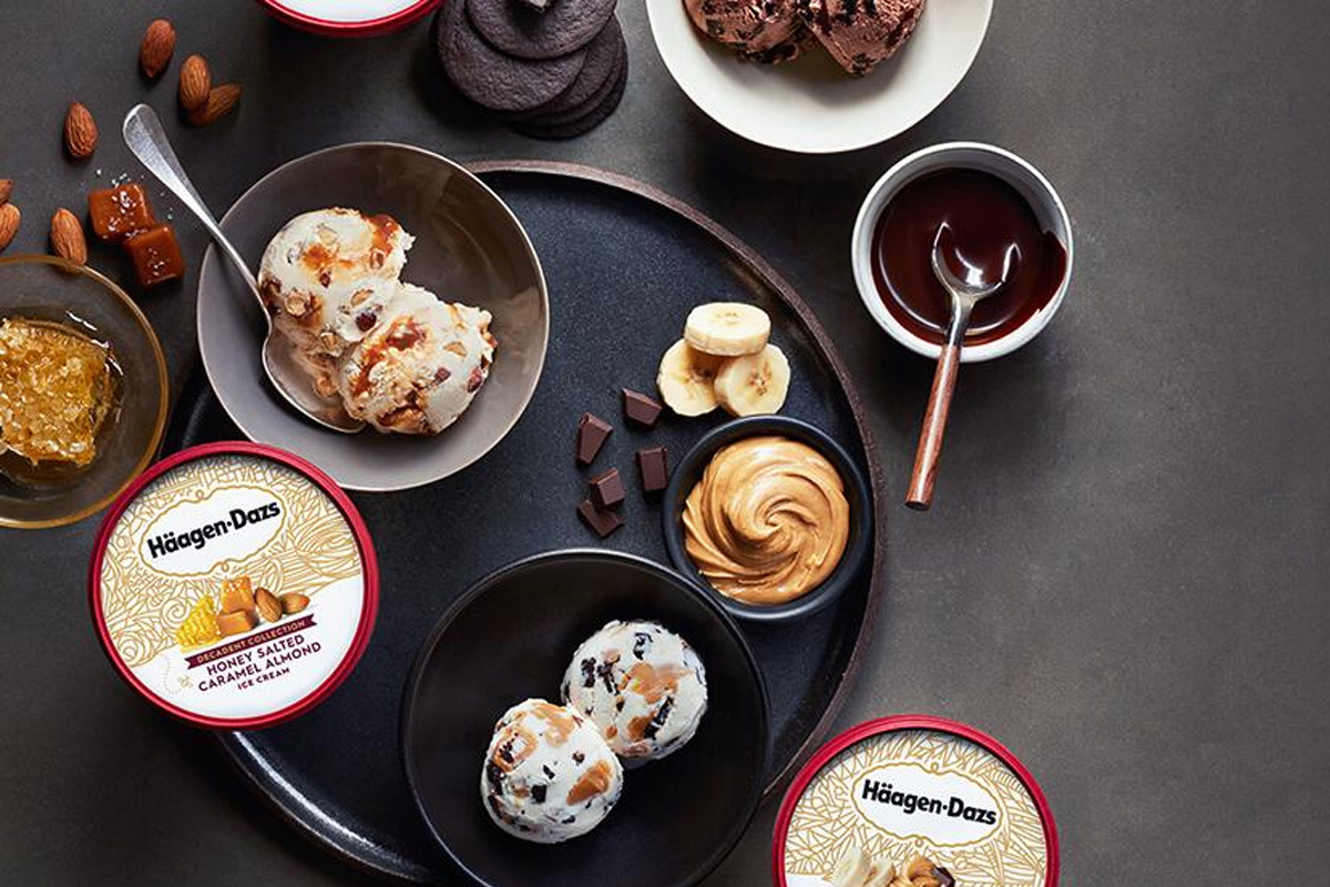 Nestle Haagen-Dazs ice cream