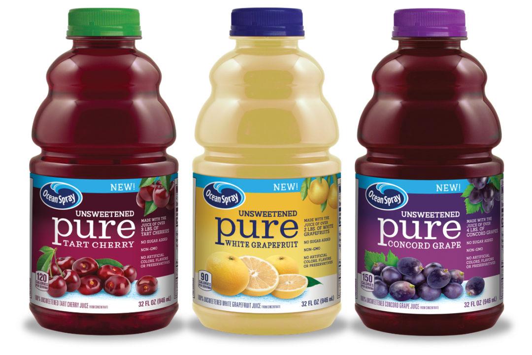 Ocean Spray Pure juices