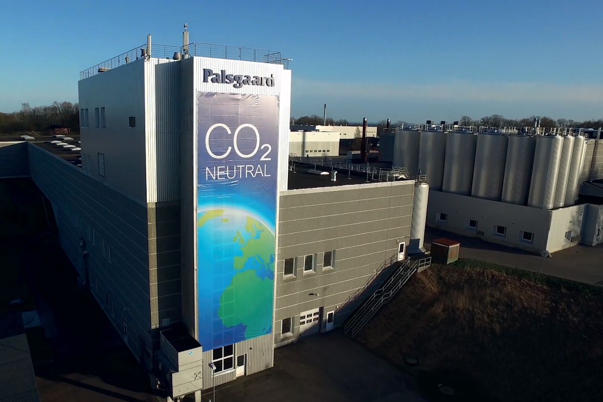 Palsgaard carbon dioxide neutral facility