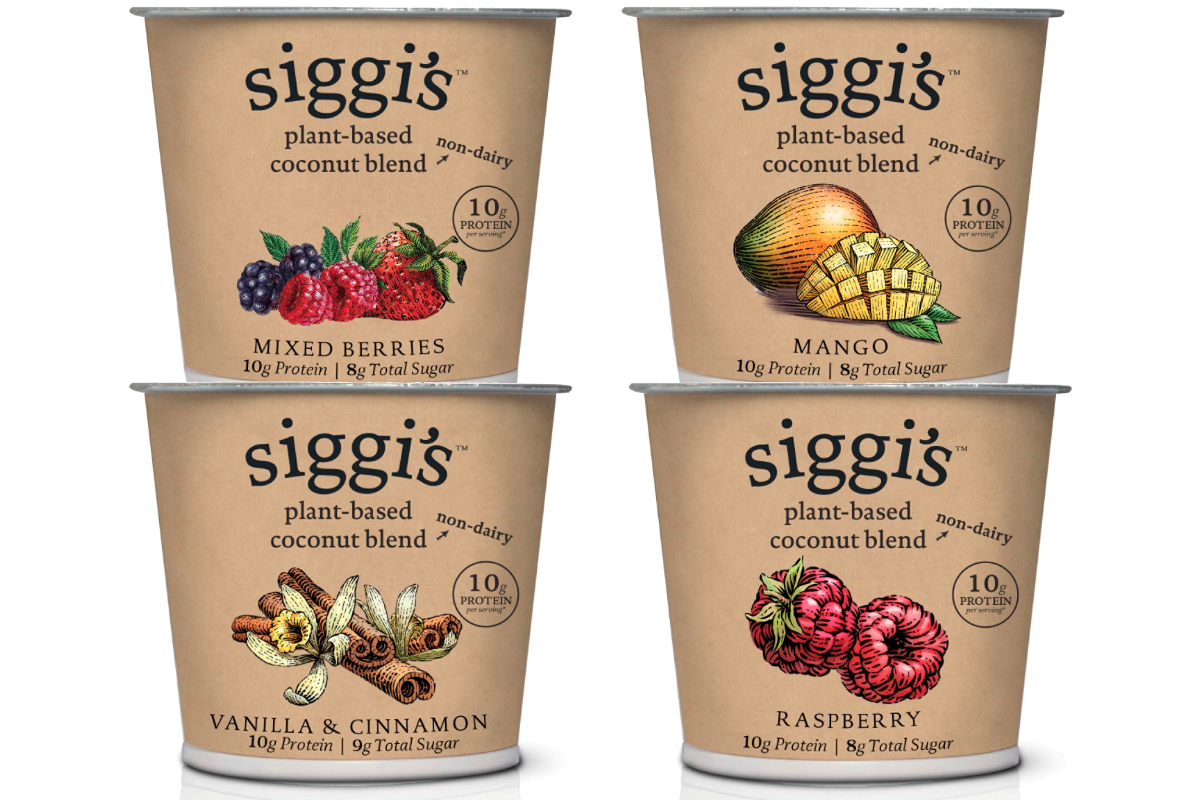 Siggis plant-based yogurt alternatives