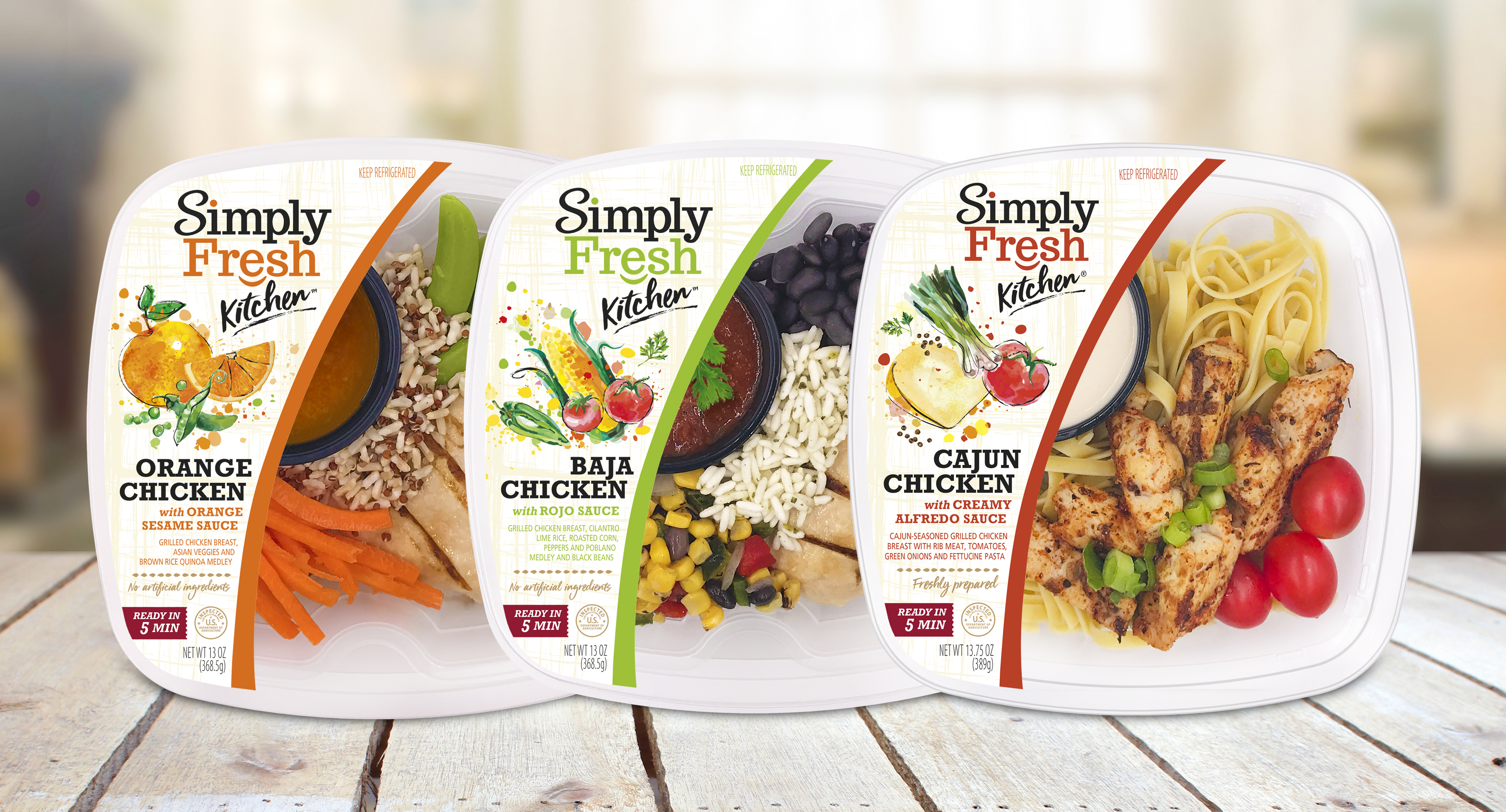 Simply Fresh meals