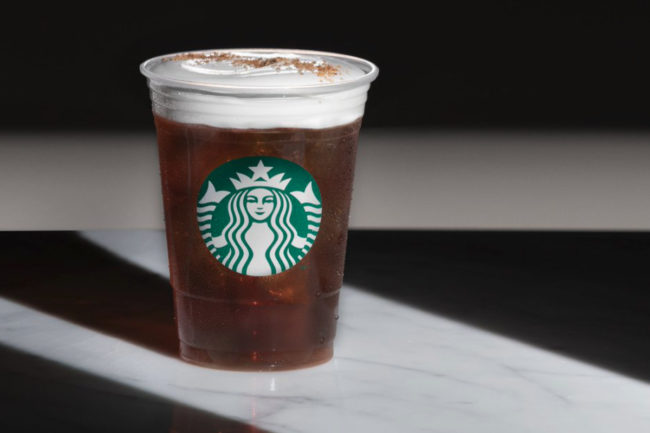 Starbucks cold brew cold foam