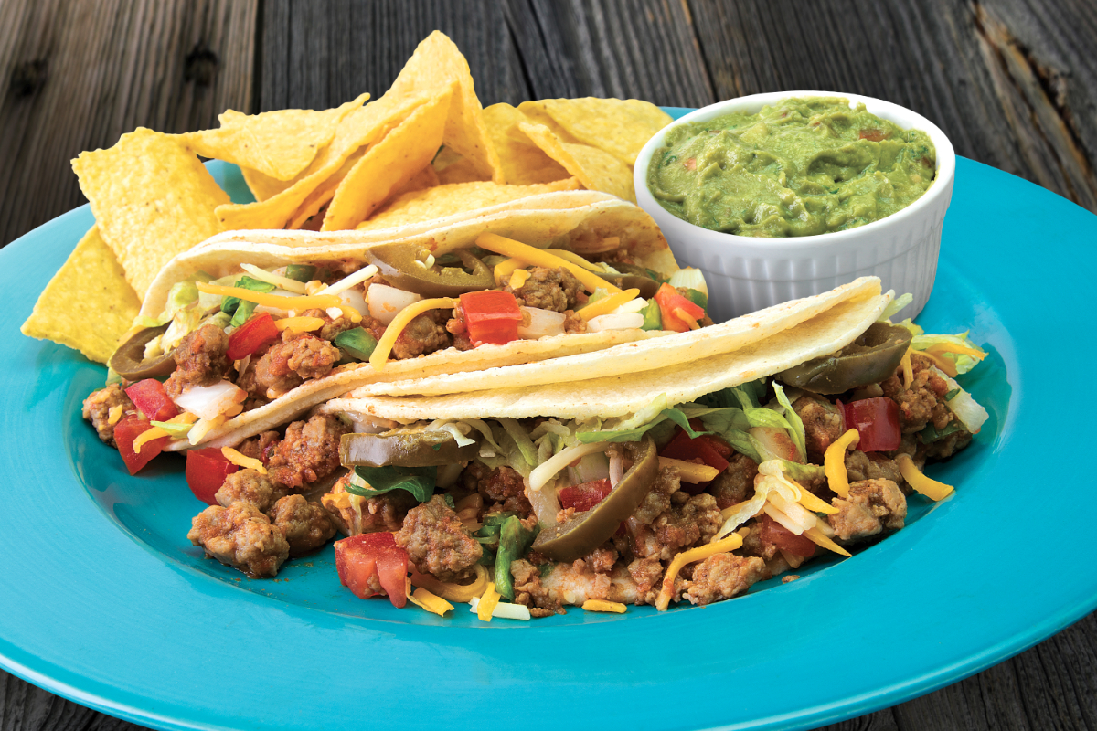 Taco Del Mar Beyond Meat Tacos