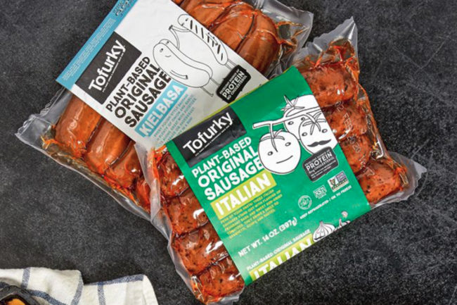 The Tofurky Co. plant-based sausage