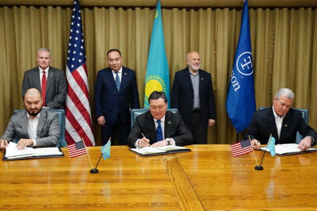 Tyson Kazakhstan beef plant agreement