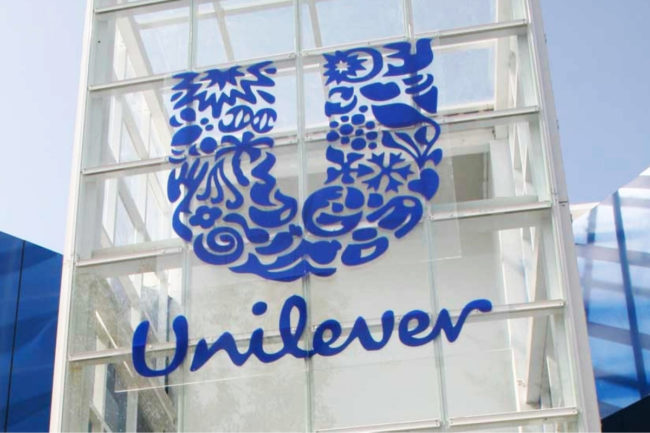 Unilever sign