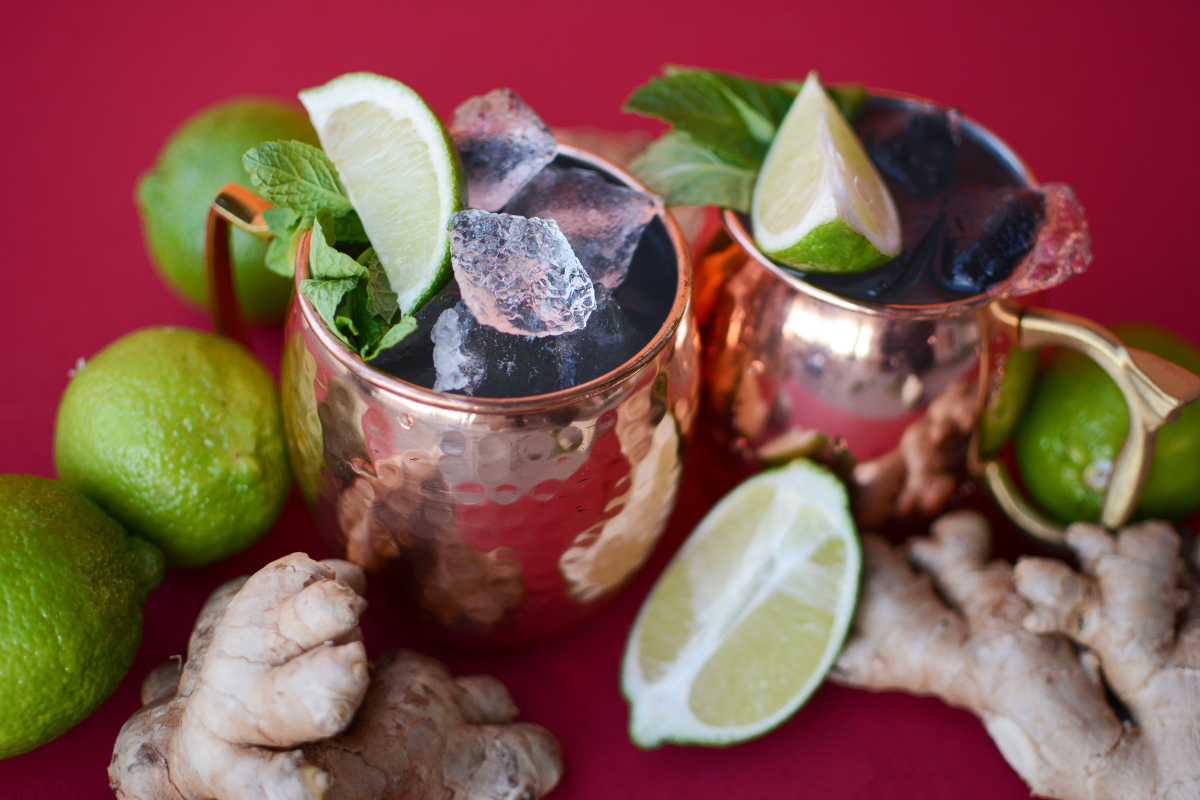 at-home mixers Moscow mule