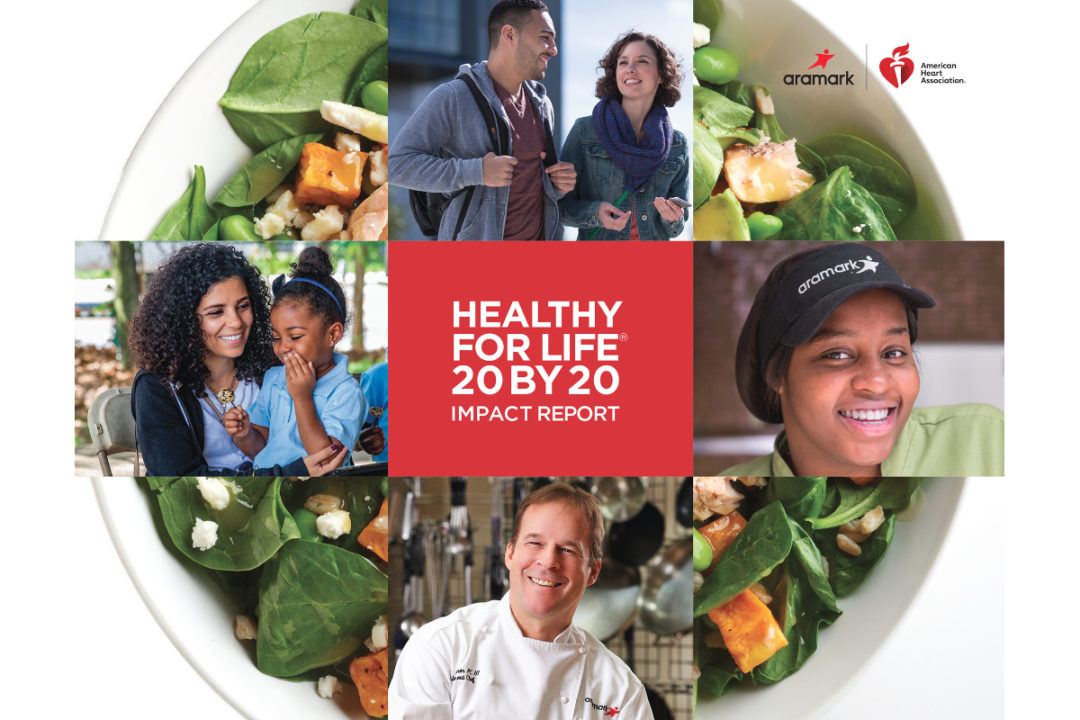 Aramark Healthy for Life 20 by 20 report