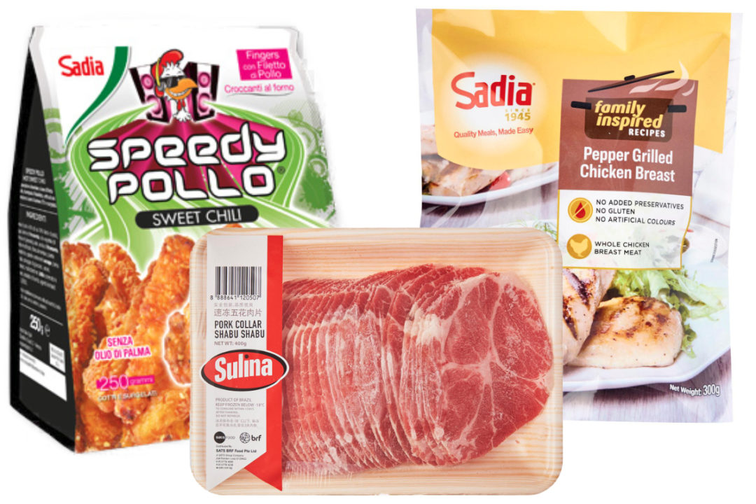 BRF poultry brands