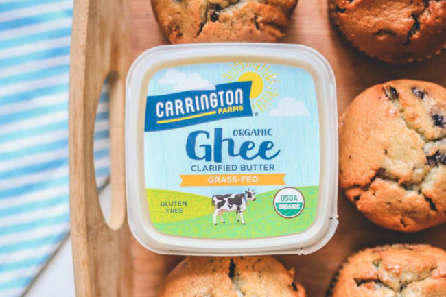 Carrington Farms ghee