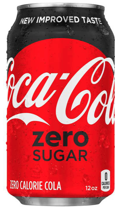 Coca-Cola Zero Sugar can