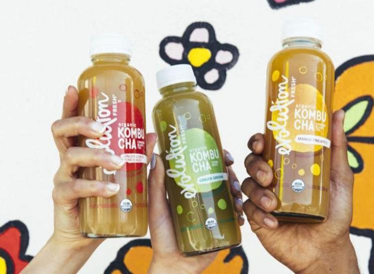 Evolution Fresh kombucha