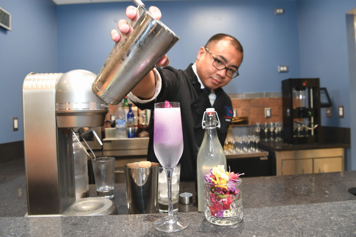 McCormick Culinary Center mixology bar