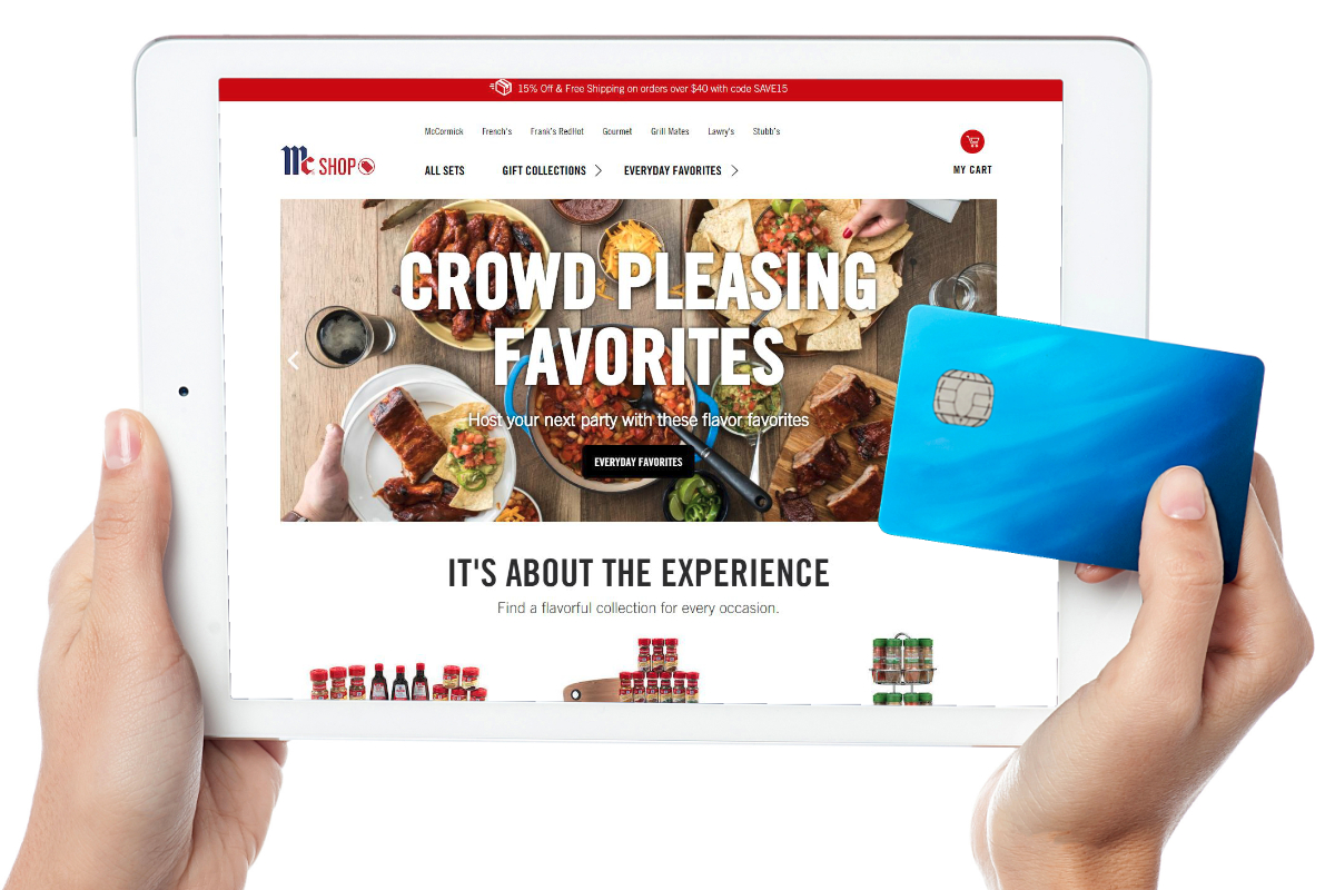 McCormick e-commerce