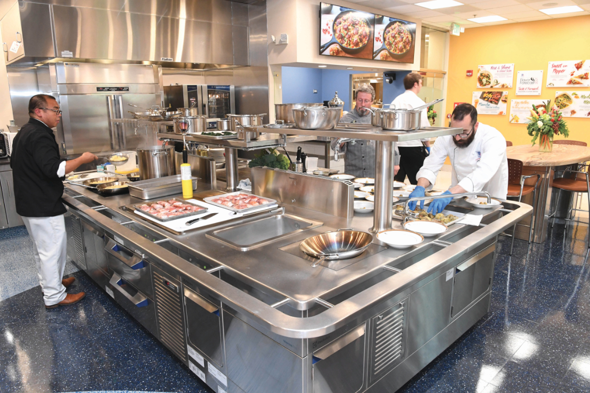 McCormick Culinary Center Kitchen of Tomorrow